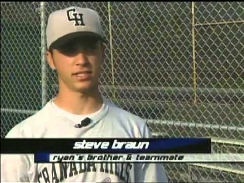 Ryan Braun in High School from the Before They Were Pros Collection