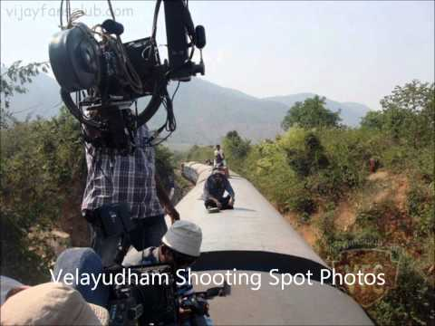 Velayudham Shooting Spot video