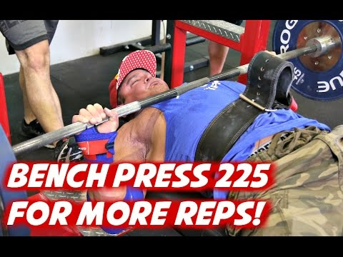 Power Project: How to bench 225 for more reps