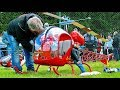 GIGANTIC XXXL RC SCALE 1:3 BELL 47G ELECTRIC MODEL HELICOPTER FLIGHT DEMONSTRATION