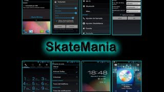 review+configuracion scripts+ launcher pro plus skatemania ZTE SKATE