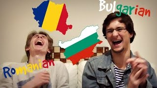 THE LANGUAGE CHALLENGE (Bulgarian vs. Romanian)