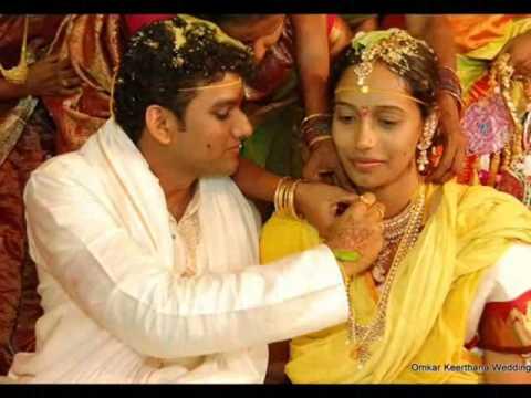Omkar Keerthana wedding pics