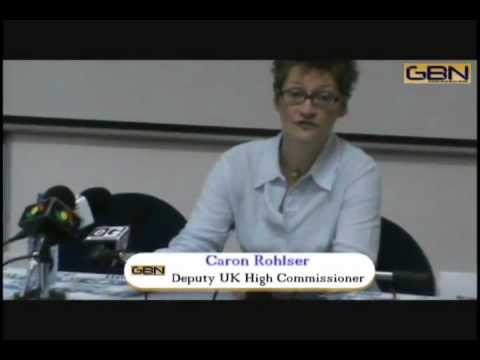 British Open Media Day: Ghana-UK relations (07/03/13)