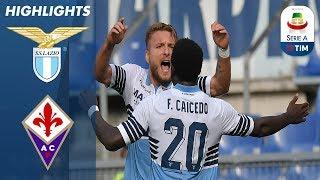 Lazio 1-0 Fiorentina | Immobile Strike Helps Lazio Secure Tight Home Win | Serie A
