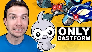 Can You Beat Pokemon ORAS With ONLY Castform?