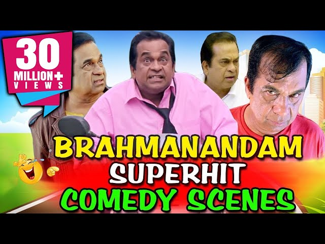 Brahmanandam Superhit Comedy Scenes | South Indian Hindi Dubbed Best Comedy Scenes thumbnail