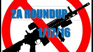 RIFLE BAN BILL PROPOSED - 2A UPDATE 1/17/16