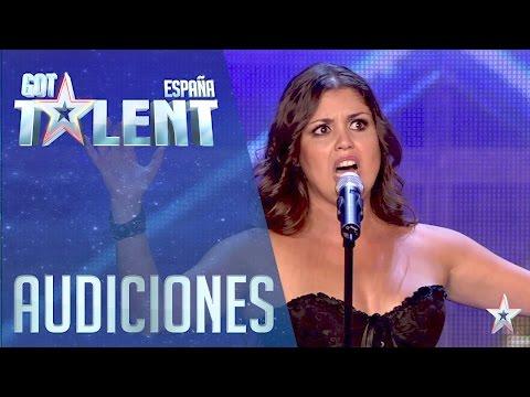 ¡Pase de Oro! La ópera y el rock de Cristina | Audiciones 5 | Got Talent España 2016
