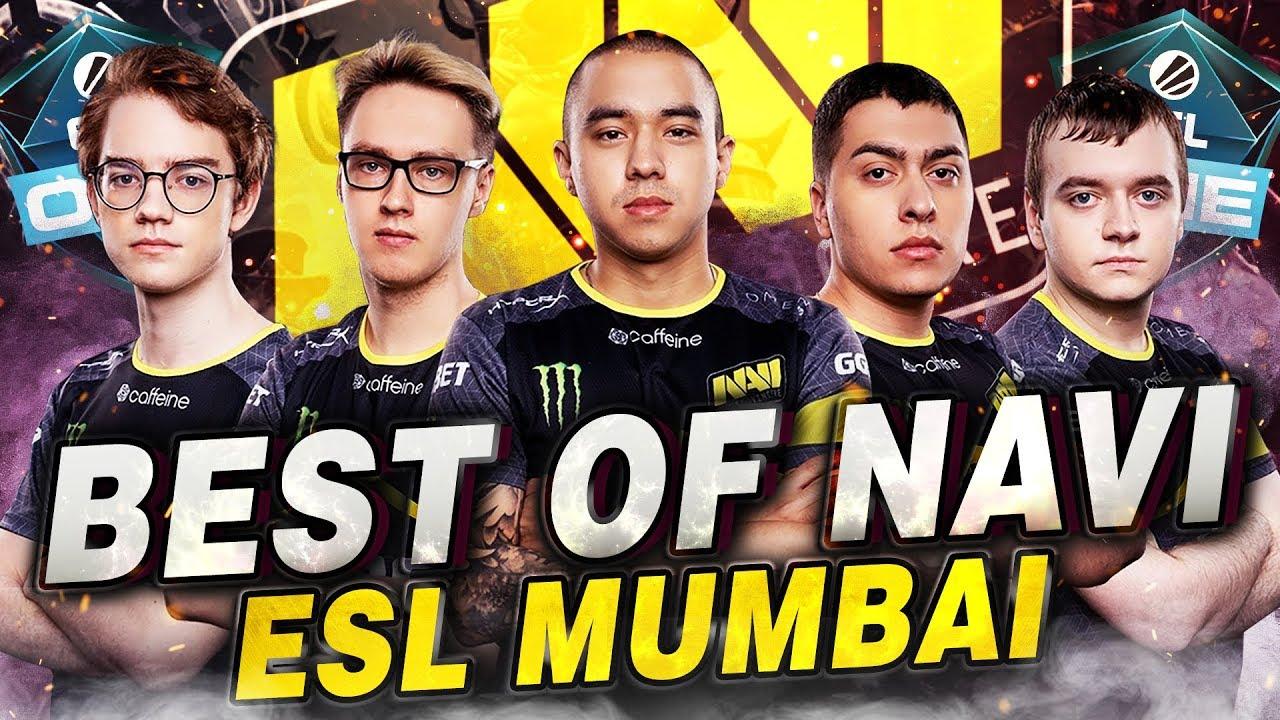 Best of NAVI at ESL One Mumbai 2019