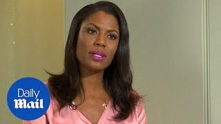 Why is Trump trying to silence me? Omarosa fires back at WH - Daily Mail