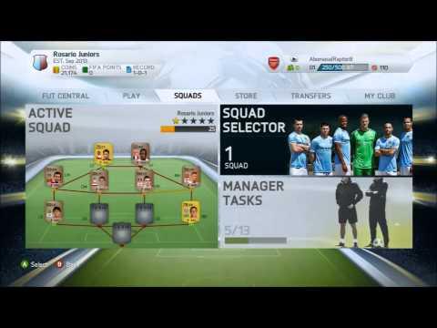 FIFA 14 Ultimate Team Consumable Glitch (Free coins) PATCHED!