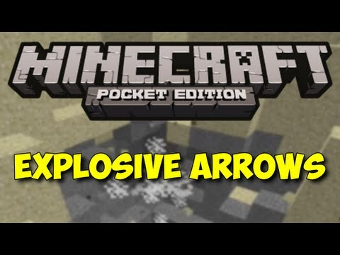 Explosive Arrows - Minecraft Pocket Edition Mod Reviews