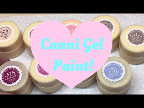 More Canni Gel Paint Colors!