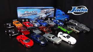 Fast and Furious Jada Toys 1:32 Diecast Cars Collection