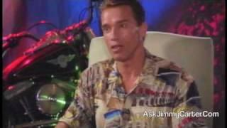 Arnold Schwarzenegger interview for Terminator 2