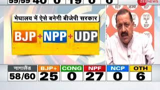 BJP's performance in Tripura, Nagaland indicates end of appeasement politics: Jitendra Singh