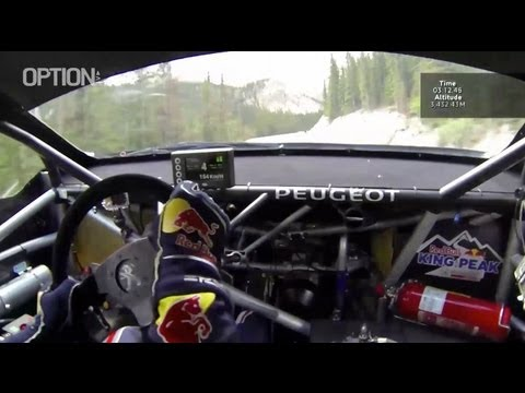 On Board : S. LOEB Pikes Peak FULL RECORD [HD] (Option Auto)