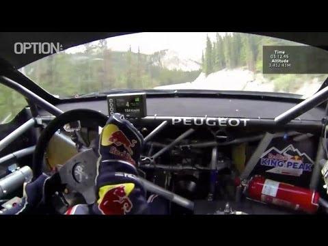 On Board : S. LOEB Pikes Peak FULL RECORD [HD] (Option Auto)
