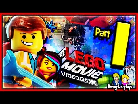 LEGO Movie Videogame Walkthrough Part 1