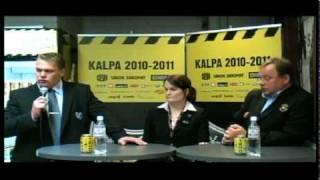 21.9.2010 KalPa-Jokerit lehdistötilaisuus
