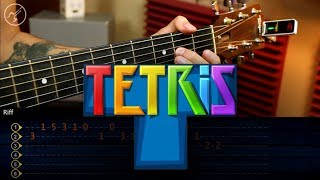 Tetris - Theme (Korobeiniki) | Guitarra Tutorial | Guitar TAB | Christianvib
