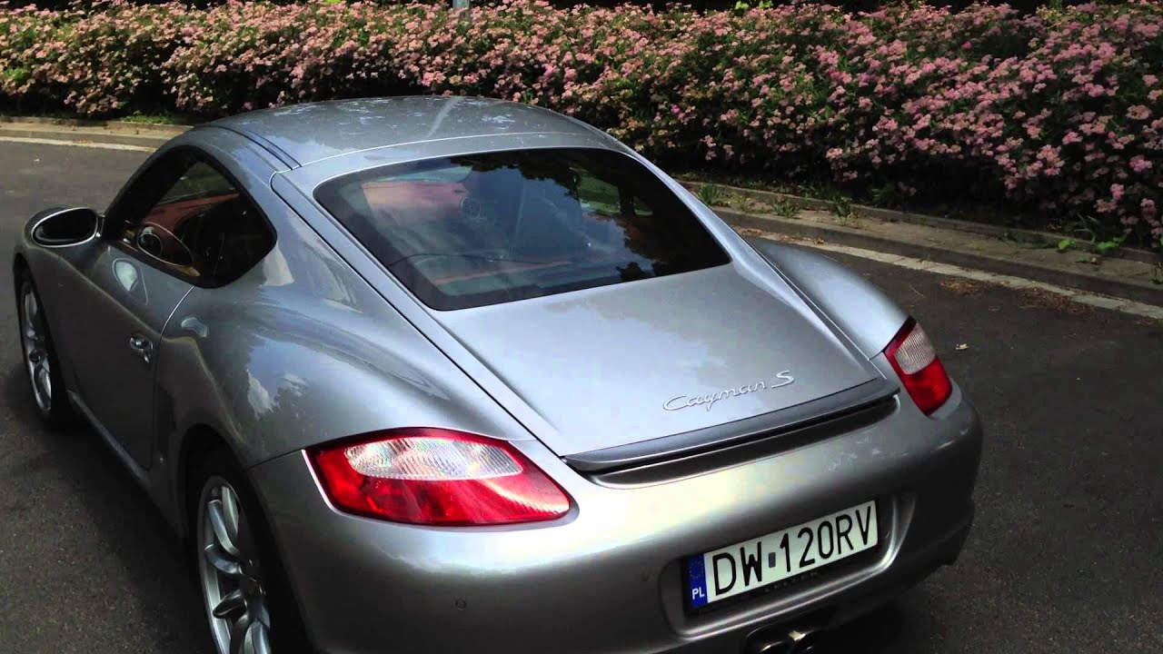 Porsche Cayman S 2006 Gt Silver Metalic Terracotta Youtube