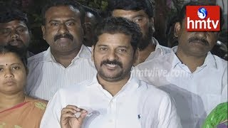 Congress Leader Revanth Reddy Speaks to Media After ED Inquiry | hmtv