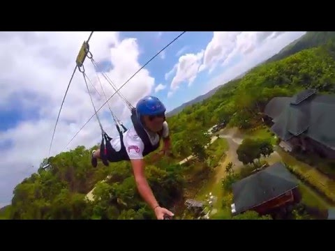 Bohol Filipiny - Loboc Adventure Park