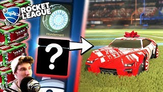 Rocket League CRATE OPENING! - ULTIMATE CHRISTMAS CAR! - New Secret Santa Crates (Trading/Update)