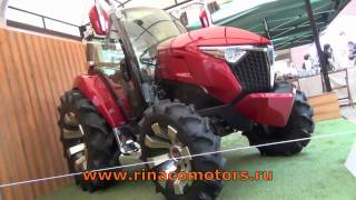 YANMAR Y-concept YTO1 - Японский минитрактор ADAVANCED TRACTOR