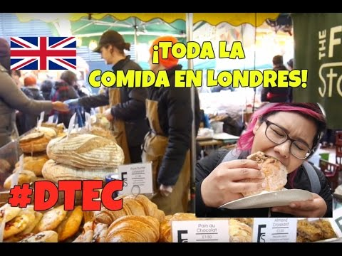 Borough Market: ¡El Mercado de Comida más famoso de Londres! | DTTV 380 | LONDRES ? #DTEC