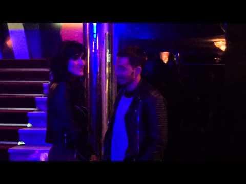Emmanuel Horvilleur mimó a su novia en su debut teatral