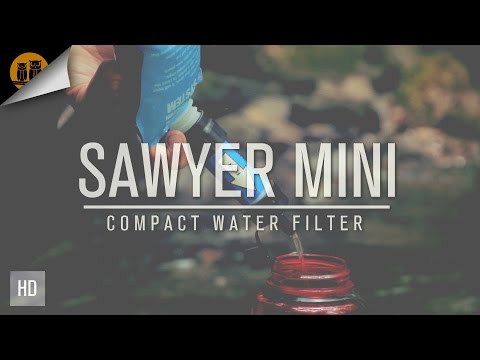 Sawyer Mini   Survival Water Filter   Field Review