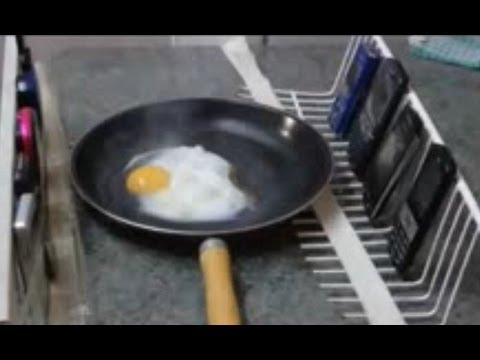 my mobile phone cooked my egg