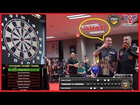 Bullseye Incident - Tony Martin v Adam Stella - Last Leg Decider