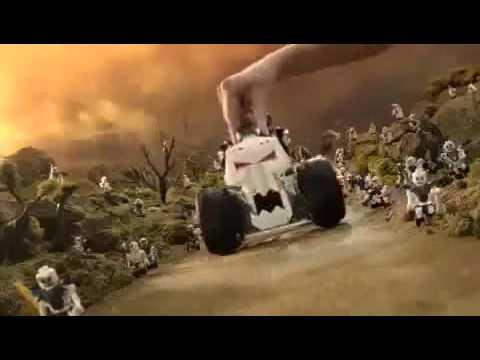 Lego Ninjago Fire Temple & Skull Truck  Commercial