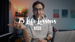 15 Lessons that Improved My Life