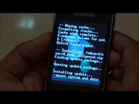 Installing Android 4.2. Jelly Bean (JellyNoid) Custom ROM on Samsung Galaxy Y S5360