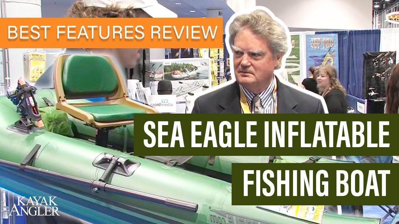 Icast 2013 Sea Eagle Boats Inflatable Fishing Youtube