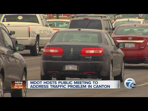 MDOT hosts public meeting to address traffic problem in Canton