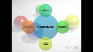 google organization structure