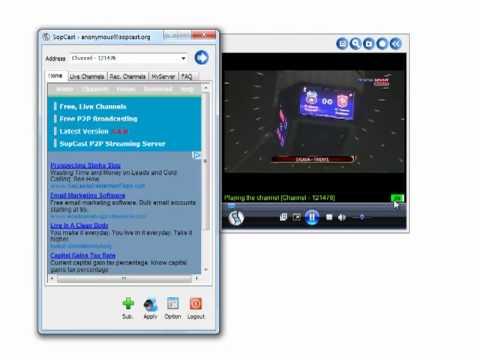 Hướng dẫn sử dụng Sopcast