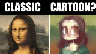 IF 3 FAMOUS PAINTINGS WERE CARTOONS [Fine Art Made Cartoony]