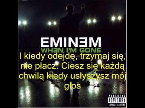 Eminem - When I'm Gone Pl video