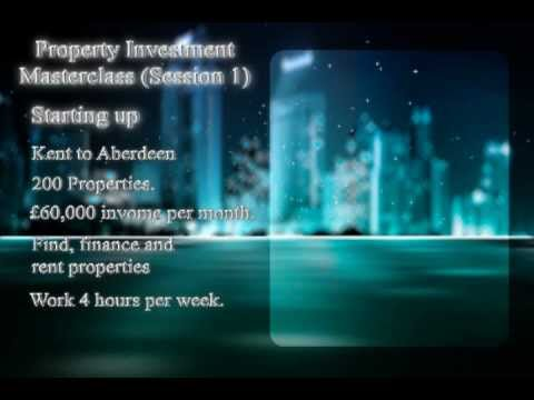 Property Investment Masterclass Session 1 of 7 by Ajay Ahuja