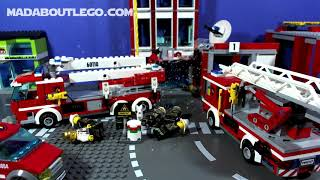LEGO City Fire Trucks and more