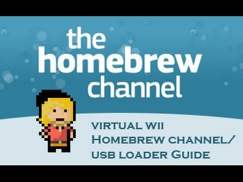 [TUTORIAL] Wii U Homebrew And USB Loading (Virtual Wii. Any Firmware! Current FW: 5.5.1x)