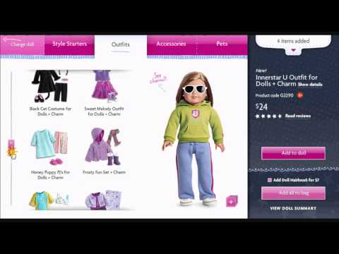 Creating My American Girl Doll!