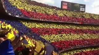 برشلونة ضد أتلتيكو مدريد - نشيد بارسا
